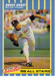 1988 Fleer Baseball All-Stars Baseball Cards   018      Bruce Hurst