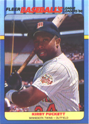 1988 Fleer Baseball All-Stars Baseball Cards   030      Kirby Puckett