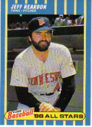 1988 Fleer Baseball All-Stars Baseball Cards   033      Jeff Reardon