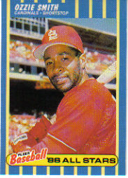 1988 Fleer Baseball All-Stars Baseball Cards   039      Ozzie Smith