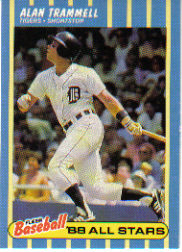 1988 Fleer Baseball All-Stars Baseball Cards   042      Alan Trammell