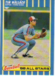 1988 Fleer Baseball All-Stars Baseball Cards   043      Tim Wallach