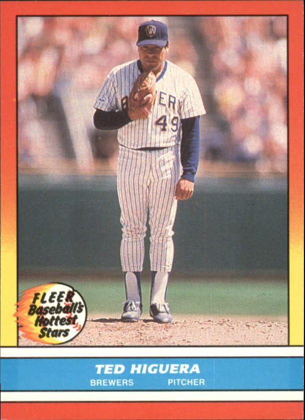 1988 Fleer Hottest Stars Baseball Cards        020      Ted Higuera