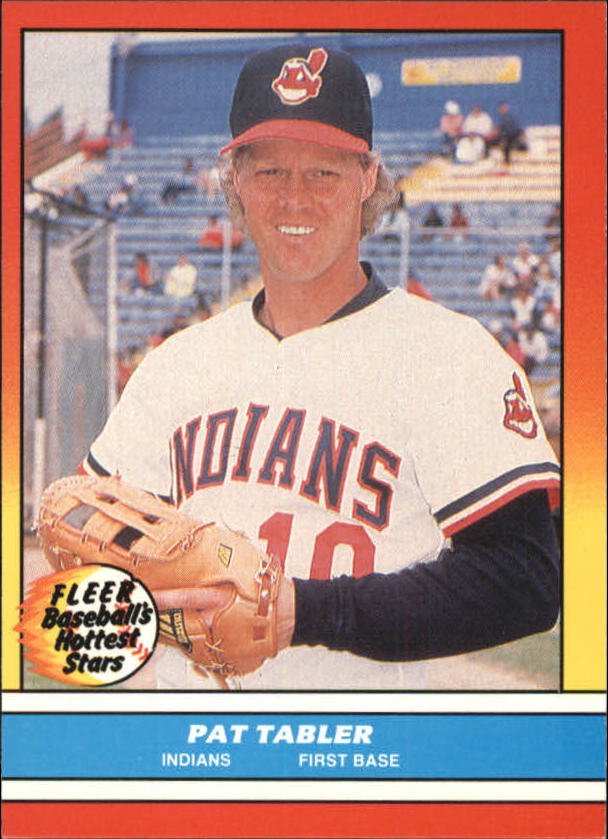 1988 Fleer Hottest Stars Baseball Cards        043      Pat Tabler