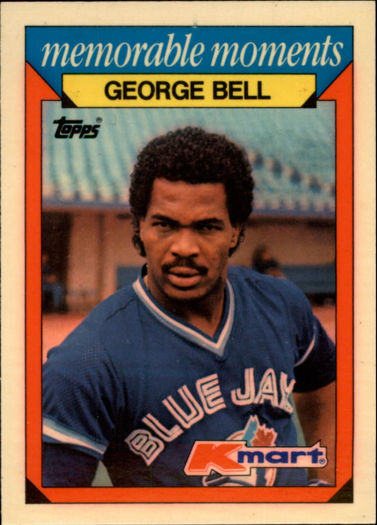 1988 K-Mart Baseball Cards     001      George Bell