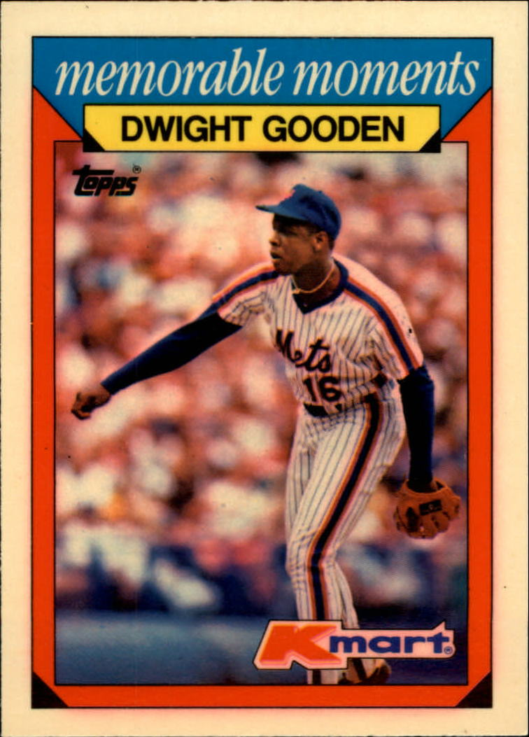 1988 K-Mart Baseball Cards     010      Dwight Gooden
