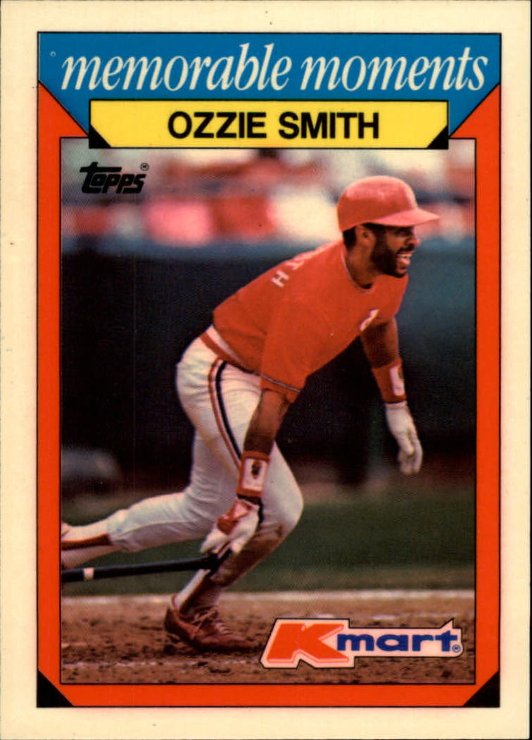 1988 K-Mart Baseball Cards     028      Ozzie Smith