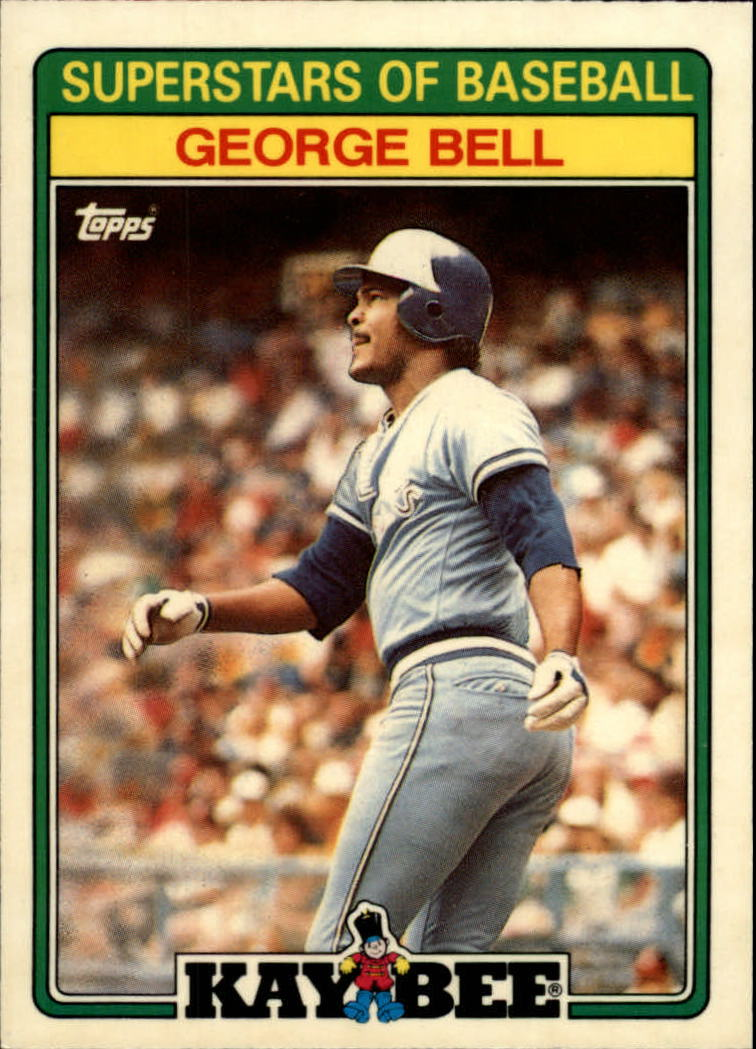 1988 Kay-Bee Baseball Cards    001      George Bell