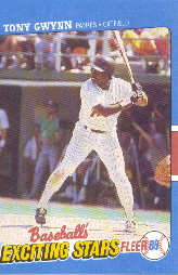 1988 Fleer Exciting Stars Baseball Cards