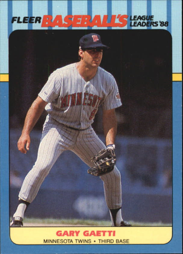 1988 Fleer League Leaders Baseball Cards