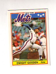 1988 Topps UK Minis Tiffany     027      Dwight Gooden