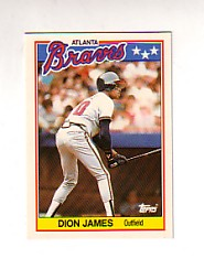 1988 Topps UK Minis Tiffany     039      Dion James
