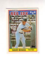 1988 Topps UK Minis Tiffany     004      Wade Boggs