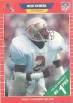 1989 Pro Set Football Cards