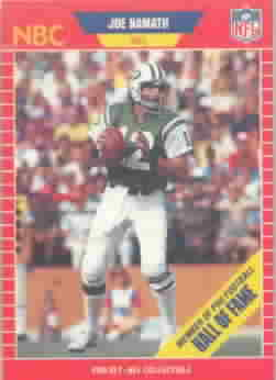 1989 Pro Set Football Cards Announcers Football Cards