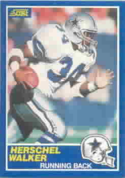 1989 Score Football Cards