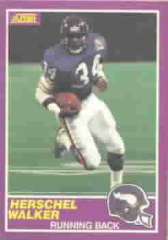 1989 Score Supplemental Football Cards