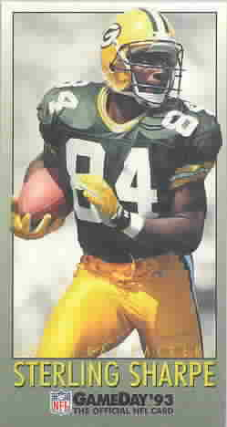 1993 GameDay Football Cards