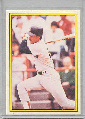 1983 KG Glossy  001      Wade Boggs RC