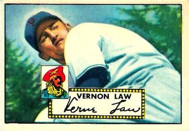1952 Topps      081      Vern Law