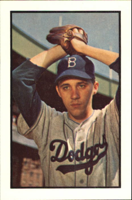 1953 Bowman Color       014      Billy Loes