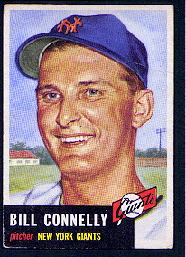 1953 Topps      126     Bill Connelly  RC