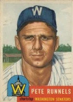 1953 Topps      219     Pete Runnels UER#{(Photo actually#{Don Johnson)