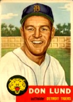 1953 Topps      277     Don Lund RC