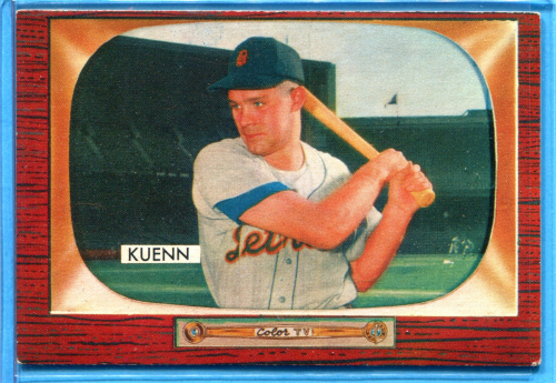 1955 Bowman     132A    Harvey Kueen ERR