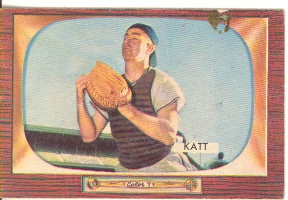 1955 Bowman     183     Ray Katt