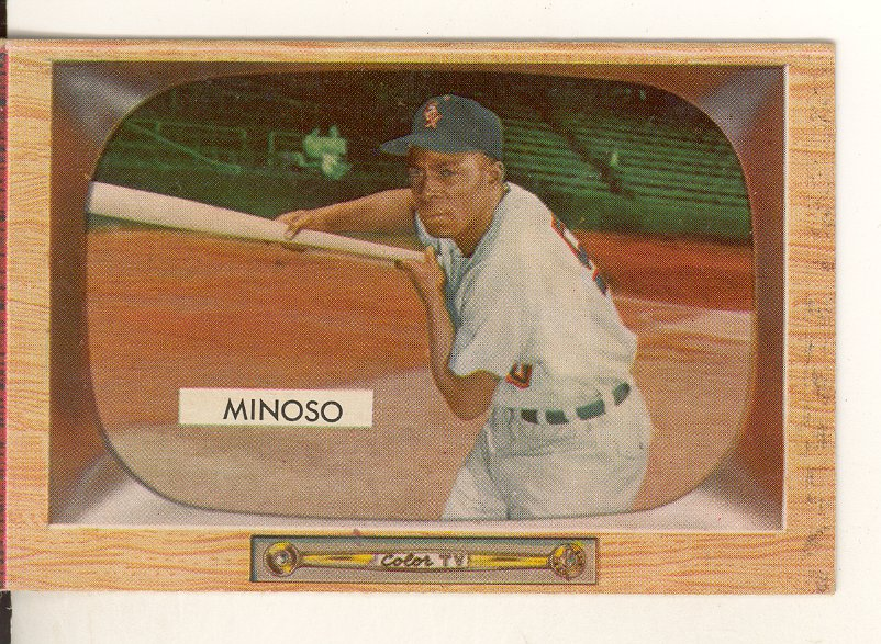 1955 Bowman     025      Minnie Minoso