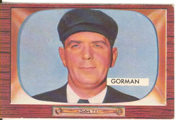 1955 Bowman     293     Thomas Gorman UMP