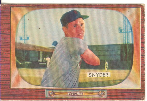 1955 Bowman     074      Jerry Snyder