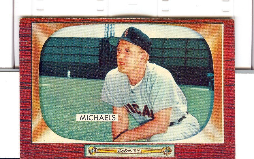 1955 Bowman     085      Cass Michaels