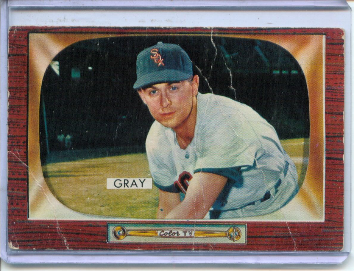 1955 Bowman     086      Ted Gray
