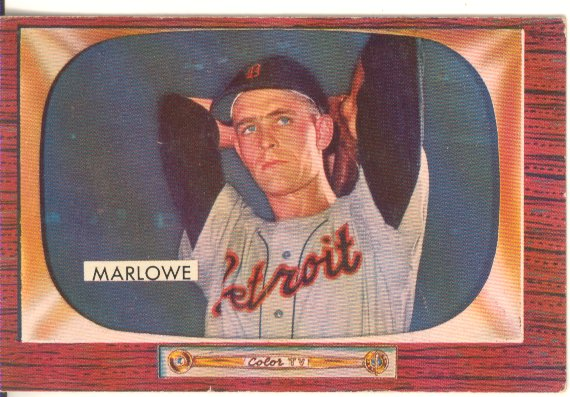 1955 Bowman     091      Dick Marlowe RC