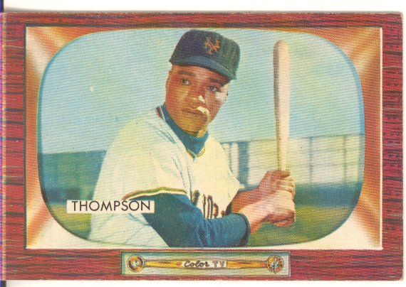 1955 Bowman     094      Hank Thompson