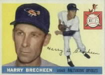 1955 Topps      113     Harry Brecheen CO