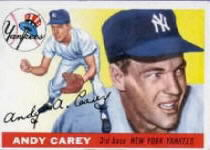1955 Topps      020      Andy Carey