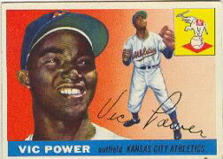 1955 Topps      030      Vic Power