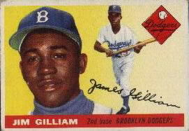 1955 Topps      005       Jim Gilliam
