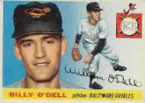 1955 Topps      057      Billy O Dell RC