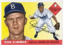1955 Topps      092      Don Zimmer RC