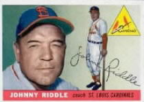 1955 Topps      098      John Riddle CO