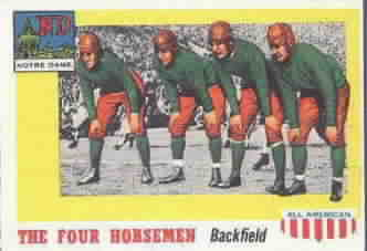 1955 Topps All American Football Cards