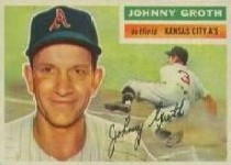 1956 Topps      279     Johnny Groth