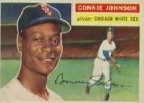 1956 Topps      326     Connie Johnson RC