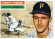 1956 Topps      065A     Johnny O Brien GB
