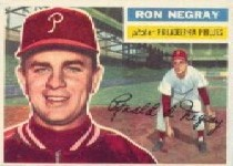 1956 Topps      007A      Ron Negray GB