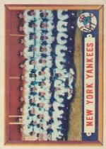 1957 Topps      097      New York Yankees TC